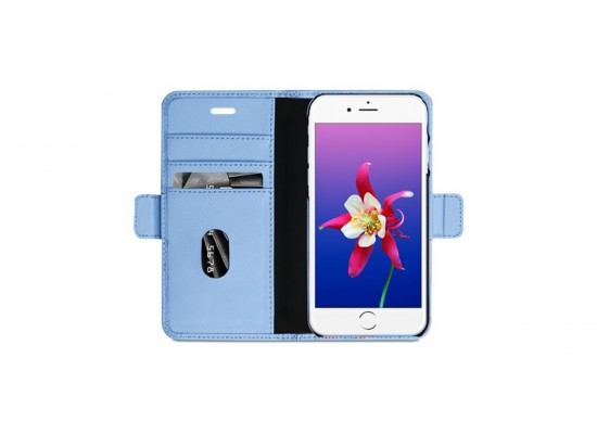 dbramante1928 New York Series iPhone 8/7/6 Leather Case (NYI8FOBL5115) - Blue