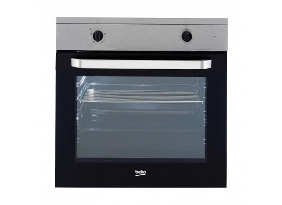 Beko 60cm 67L Single Built In Electric Oven (OIC 21001 X)