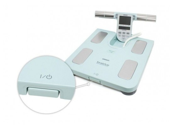 Omron Family Body Composition Monitor (HBF-511-E) – Turquoise