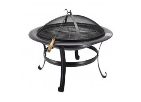 Orange 30-inch Fire Pit Grill - (BB01OF760E)