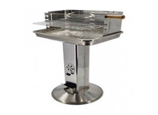 Orange Stainless Steel Stand Grill - (BB02GR3838LS)