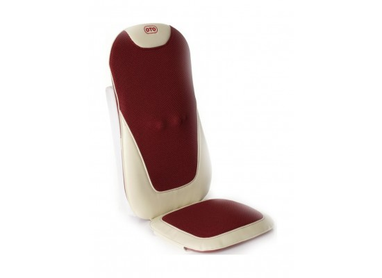 OTO E-Lux 8 Mode Massage Seat for Home & Car (EL-868) - Red