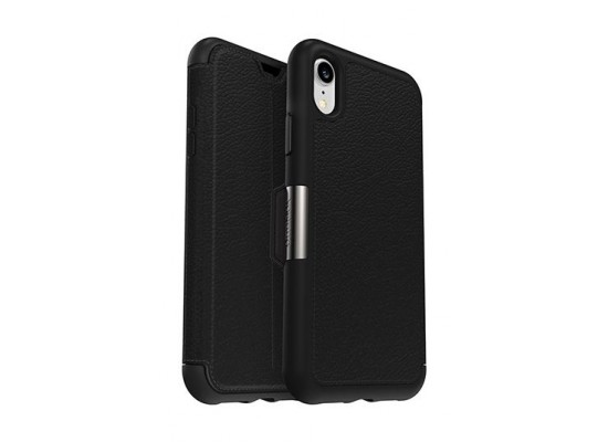 pretty nice b5844 8174d Otterbox Strada Series Folio Case for iPhone XR - 77-59922