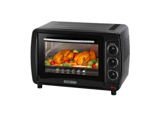 Black & Decker 35L 1500W Electric Oven (TRO35RDG-B5)