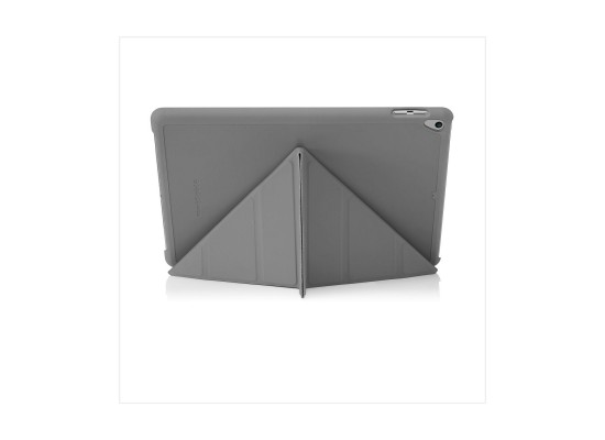 Pipetto Origami Folding Case and Stand for Apple iPad 10.2-inch 2017 - Dark Grey