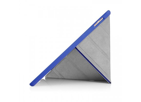 Pipetto Origami Folding Case and Stand for Apple iPad 10.5-inch 2017 - Blue