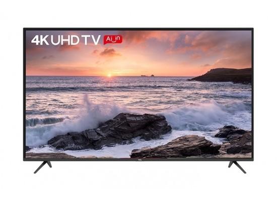 TCL 55 inch UHD Smart LED TV - (L55P65US) + Wansa 5.1Ch 130W FM USB Mini Multimedia System (TK-903)