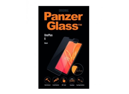 Panzer One Plus 6 Screen Protector (7006) - Black