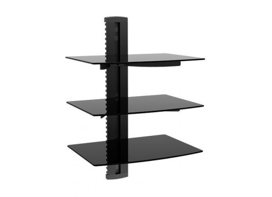 Loctek 3 Shelves DVD Wall Mount (PDH803)