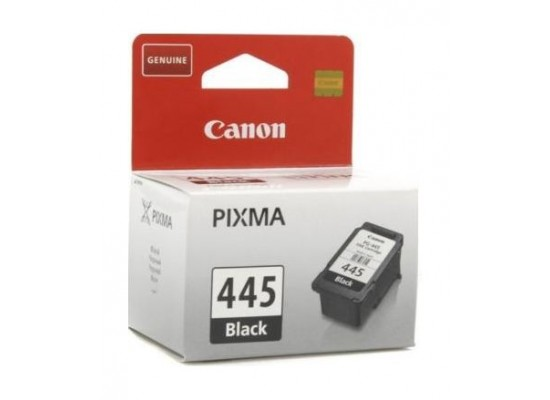 CANON Ink 445 for Inkjet Printing 180 Page Yield - Black (Single Colour Pack)