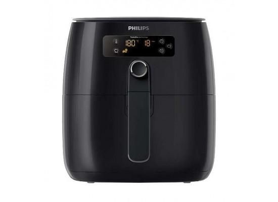 Philips Turbostar 1425 Watts Hot Air Fryer (HD9641 / 90) - Black