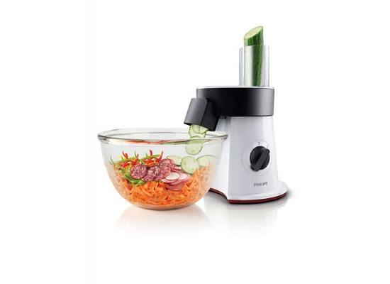 Philips Viva Collection 200W Salad Maker (HR1387/81) - Star White