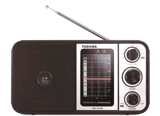 Toshiba TY-HRU30 AM/FM Portable Radio - Brown | Xcite Alghanim Electronics - Best online shopping experience in Kuwait