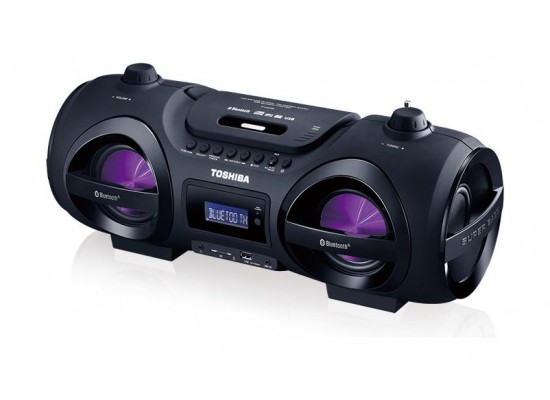 Toshiba TY-CWU500 Portable Boombox CD/SD/USB Radio with Bluetooth Function