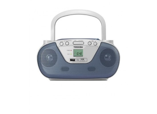 Toshiba TYCRU Portable CD Radio - Blue
