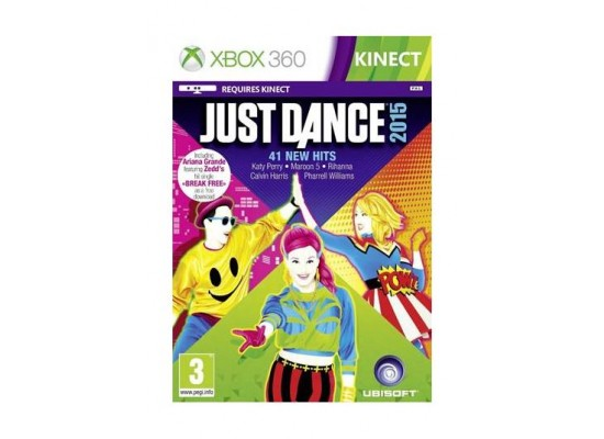 Just Dance Game For Xbox 360 : Just dance 2015 classic xbox 360 game xcite alghanim electronics