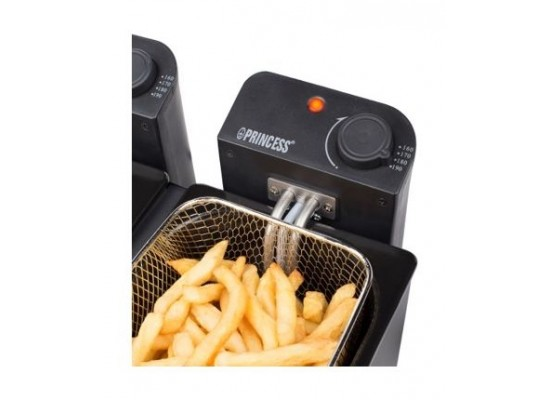 Princess Deep Fryer With Double Frying Pots - (182027)