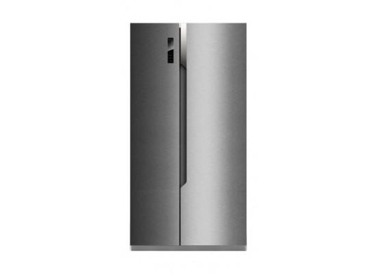 Hisense 24 Cft. Side By Side Refrigerator (RS670N4ASU) - Silver