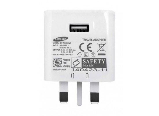 Samsung Wall Charger for Samsung Smartphones (EP-TA20UWEUGAE) – White
