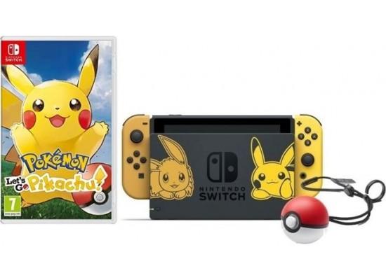 Nintendo Switch Let's Go Pikachu Limited Edition Console Bundle