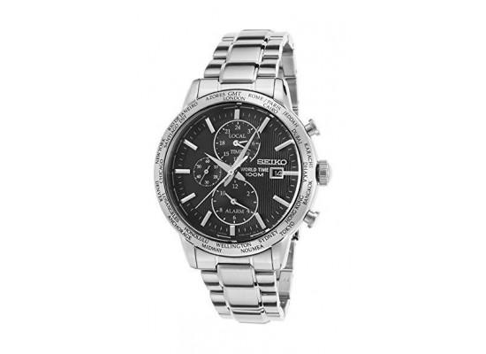 Seiko Gents Chronograph Watch Metal Strap PL049