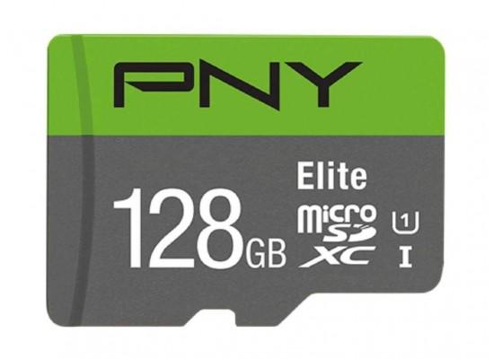 PNY Elite MicroSDXC Card 128 GB Class 10 Memory Card