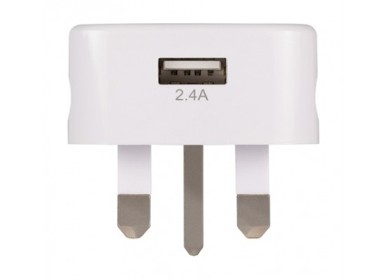 PNY 2.4A USB-C Wall Charger (P-AC-TC-WUK01-RB) - White