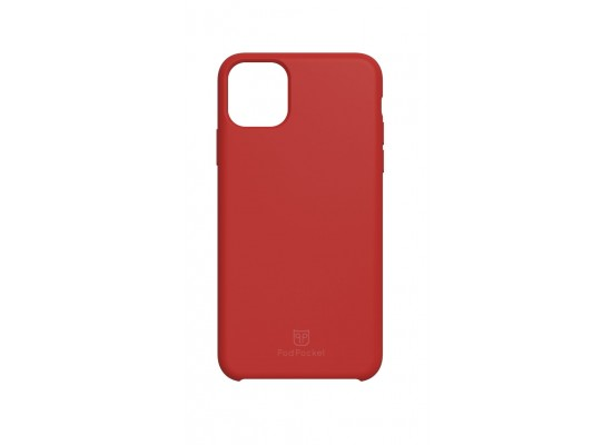 PodPocket iPhone 11 Pro Max Case + AirPod Case - Blazing Red