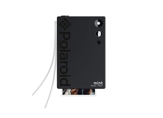 Polaroid Mint Instant Print Digital Camera (POLSP02) - Black