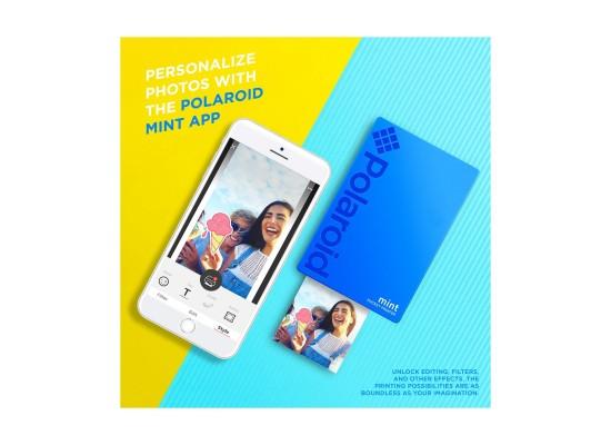 Polaroid Mint Pocket Printer (POLMP02) - Blue