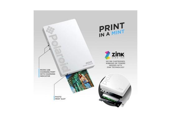 Polaroid Mint Pocket Printer (POLMP02) - White