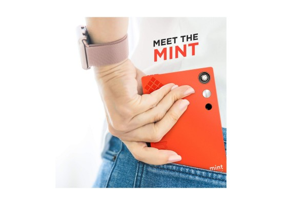 Polaroid Mint Instant Print Digital Camera (POLSP02) - Red