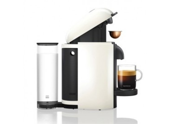 Nespresoo Vertuoline Coffee & Espresso Maker with Aeroccino plus Milk Frother– White (VLB-GCB2-GB-WH-NE1 NE)