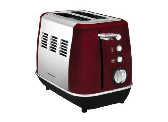 Morphy Richards Evoke 2 Slice Toaster 850W – Red (224408)