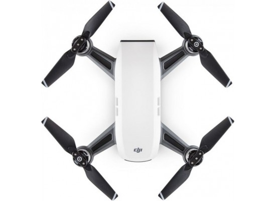 DJI Spark Quadcopter Drone With 12MP Camera And 2-Axis Gimbal - White