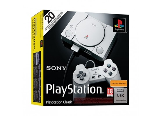 Sony PS4 Pro 1TB Gaming Console (PAL) – Black + PlayStation Classic Console + 20 Pre Loaded Games