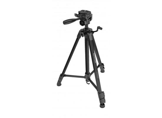 Promate Aluminum Portable and Adjustable Camera Tripod (Precise-150) - 150 cm