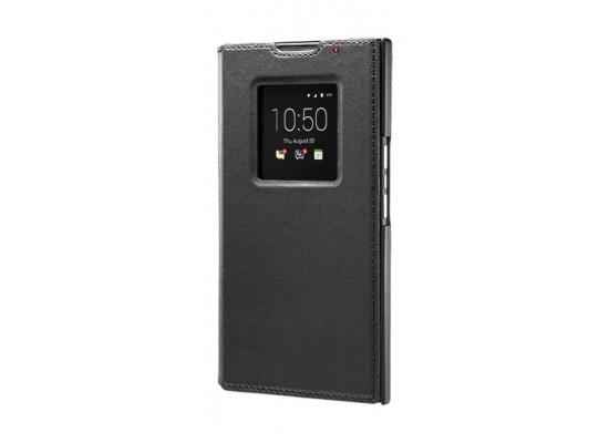online retailer 0728b 321fa BlackBerry Priv Flip Leather Case - Black