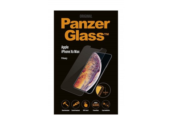 Panzer Screen Protector with Privacy Filter For iPhone XS Max (P2639) - Black