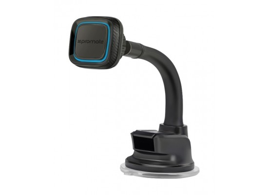 Promate Magmount4 360 Degree Rotate Long Arm Universal Magnetic Car Mount - Blue
