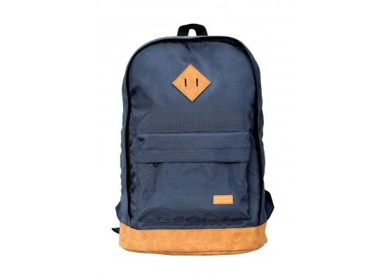 Promate Drake 2 Retro 15.6-inch Backpack - Blue