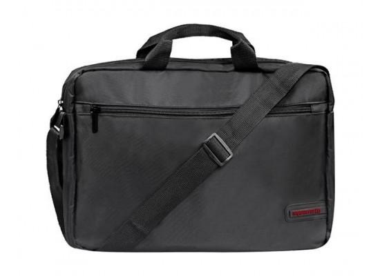 Promate Premium Lightweight  15.6 inch Messenger Bag - Black