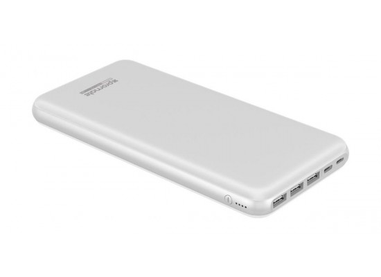 Promate ProVolta-30 30000mAh Portable Power Bank - White