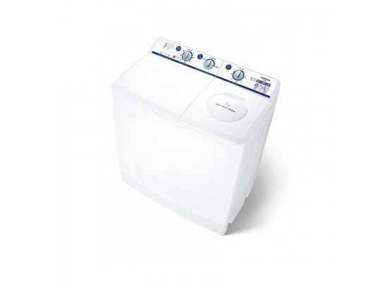 Hitachi 14KG Twin Tub Washing Machine (PS-1405JC) - White