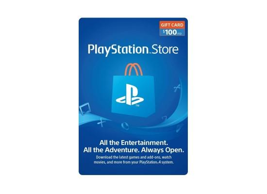 PlayStation Network Card - $100 (U.S. Account)