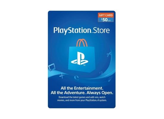 PlayStation Network Card - $50 (U.S. Account)