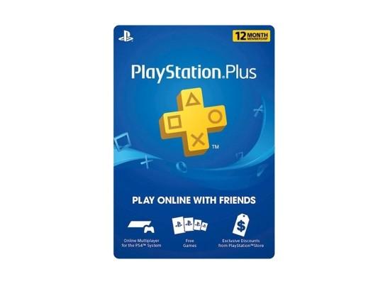 PlayStation Plus 1-Year Membership (U.S. Account)
