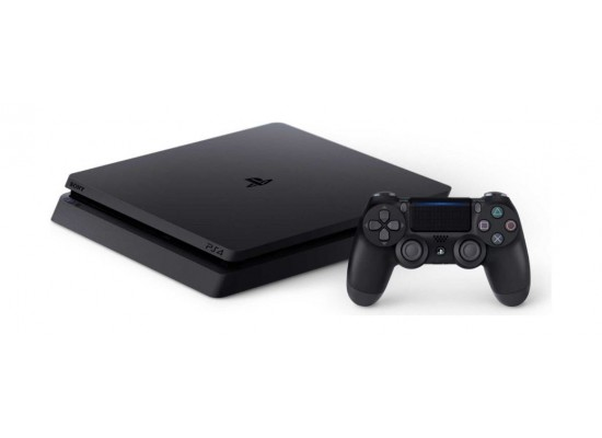 Sony Playstation 4 Slim 1TB Console + 2 Controllers