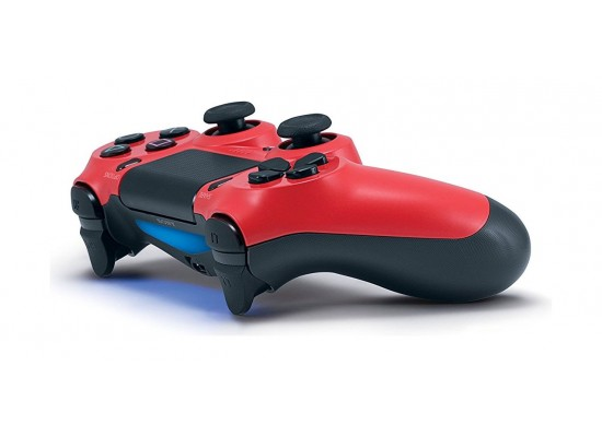 Sony PS4 Controller DualShock 4 Wireless – Red V2 Angled View
