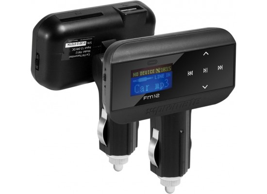 Promate FM12 Multi-Function Wireless FM Transmitter